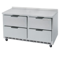 Beverage Air WTRD48A-4 48 inch Compact Worktop Refrigerator - 4 Drawer