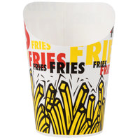 Dart Solo GSP34-83013 4 oz. Paper French Fry Scoop Cup 1200/Case