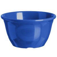 Carlisle 4305014 Durus 7 oz. Ocean Blue Melamine Bouillon Cup - 48/Case
