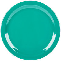 Carlisle 4350009 Dallas Ware 10 1/4 inch Meadow Green Melamine Plate - 48/Case