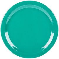 Carlisle 4350009 Dallas Ware 10 1/4 inch Meadow Green Melamine Plate   - 48/Case