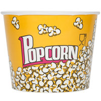 Carnival King 85 oz. Popcorn Bucket - 25/Pack