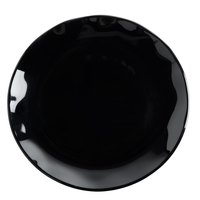 Thunder Group RF1006BW Black Pearl Two-Tone Salad Plate - 12/Pack