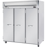 Beverage-Air HF3-5S Horizon Series 78 inch Solid Door Reach-In Freezer