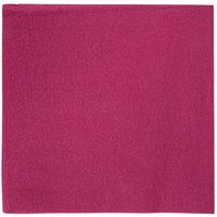 Hoffmaster FashnPoint Burgundy Linen-Feel Dinner Napkin, 1/4 Fold, 15 1/2 inch x 15 1/2 inch - 800/Case