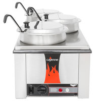 Vollrath 72788 Heat 'N Serve 4/3 Size Countertop Rethermalizer Package - 120V, 1600W