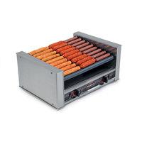 Nemco 8027-SLT-220 Slanted Hot Dog Roller Grill - 27 Hot Dog Capacity (220V)