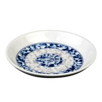 Blue Dragon 2 oz. Round Melamine Sauce Dish - 60/Case