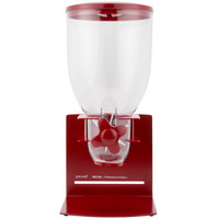 Zevro KCH-06154 Empire Red Professional Single Canister Dry Food Dispenser