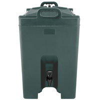 Carlisle XT1000008 Cateraide™ XT 10 Gallon Forest Green Insulated Beverage Dispenser