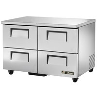 True TUC-48D-4-HC 48 inch Undercounter Refrigerator with Four Drawers