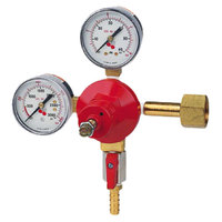 Micro Matic 842 Economy Series Double Gauge Primary CO2 Low-Pressure Regulator