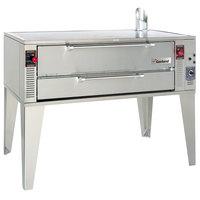 Garland GPD60 Liquid Propane 75 inch Pyro Deck Pizza Oven - 122,000 BTU
