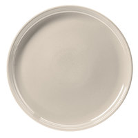 Hall China 26130AWHA Ivory (American White) 13 1/4 inch China Chop Plate - 6/Case