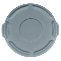 Rubbermaid FG260900GRAY BRUTE Gray 10 Gallon Trash Can Lid