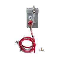 Micro Matic 83115 Single Gauge (60 PSI) Secondary CO2 Regulator Panel Kit