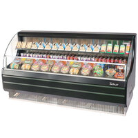 Turbo Air TOM-75LB Black 75 inch Low Profile Horizontal Air Curtain Display Case - 17.7 Cu. Ft.