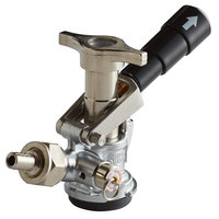 Micro Matic 7485BB D System Beer Keg Coupler with Black Lever Handle