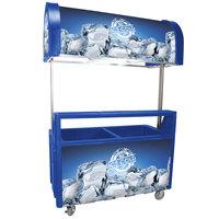 Blue ICC-1 3040 256 Qt. Illuminated Concessionaire