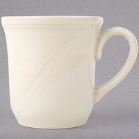 Homer Laughlin HL6141000 7.25 oz. Ivory (American White) China Cup - 36/Case