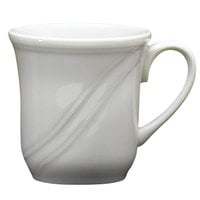 Homer Laughlin 6141000 Lyrica 7.25 oz. Ivory (American White) China Cup - 36/Case
