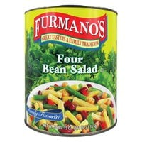 Furmano's Four Bean Salad #10 Can