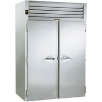 Traulsen RRI232HUT-FHS 68 inch Stainless Steel Solid Door Roll-In Refrigerator
