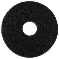 Scrubble by ACS 72-13 Type 72 13 inch Black Stripping Floor Pad - Type 72