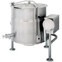 Cleveland KEL-60-T 60 Gallon Tilting 2/3 Steam Jacketed Electric Kettle - 208/240V