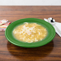 Homer Laughlin 451324 Fiesta Shamrock 13.25 oz. Rim Soup Bowl - 12/Case