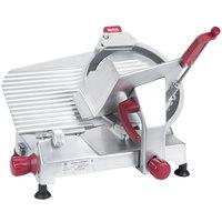 Berkel 827E-PLUS 12 inch Manual Gravity Feed Meat Slicer -1/3 hp