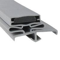 Continental 2-723 Equivalent Magnetic Door Gasket - 21 3/8 inch x 60 1/2 inch