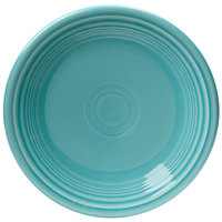 Homer Laughlin 464107 Fiesta Turquoise 7 1/4 inch Salad Plate - 12/Case