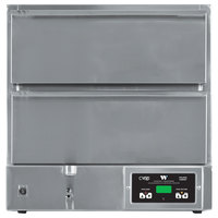 Winston Industries HBB5D2 CVAP Hold & Serve Two Drawer Warmer with Fan - 120V, 1572W