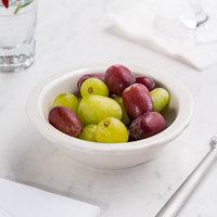 5 oz. Ivory (American White) Scalloped Edge China Fruit / Monkey Dish   - 36/Case