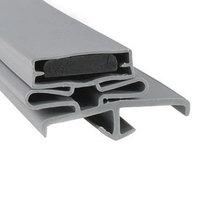 Continental 2-726 Equivalent Magnetic Door Gasket - 21 1/2 inch x 29 3/4 inch