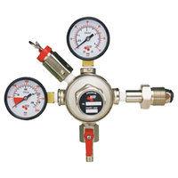 Micro Matic GN1773 Premium Series Double Gauge Primary Nitrogen Low-Pressure Regulator