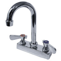 Advance Tabco K-52-X 3 1/2 inch Deck-Mounted Gooseneck Faucet with 4 inch Centers