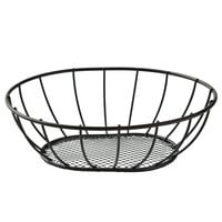 American Metalcraft SSB96 9 inch x 7 inch Straight-Sided Mesh Bottom Basket