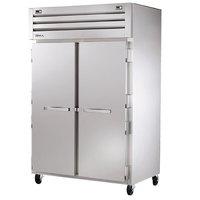 True STG2DT-2S Specification Series Solid Door Dual Temperature Reach In Combination Refrigerator / Freezer