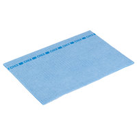Chicopee 8243 Chix 13 inch x 21 inch Blue Medium-Duty Foodservice Towel - 150/Case