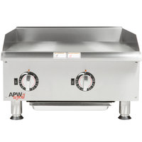 APW Wyott EG-24i 24 inch Electric Countertop Griddle 208V