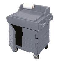 Cambro KWS40191 Granite Gray CamKiosk Food Preparation / Counter Work Station Cart