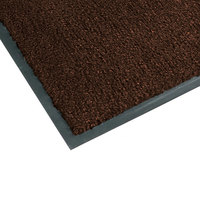 Notrax T37 Atlantic Olefin 4468-133 4' x 10' Dark Toast Carpet Entrance Floor Mat - 3/8 inch Thick