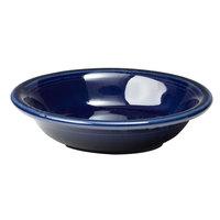 Fiesta Tableware from Steelite International HL459105 Cobalt Blue 6.25 oz. China Fruit Bowl / Monkey Dish - 12/Case