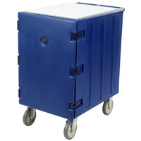 Cambro 1826LTC186 Camcart Navy Blue Mobile Cart for 18 inch x 26 inch Sheet Pans and Trays