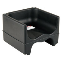 Cambro 200BC110 Black Plastic Booster Seat - Dual Seat