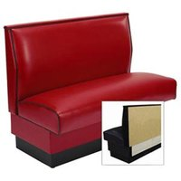 American Tables & Seating AS-36-Wall Plain Fully Upholstered Wall Bench - 36 inch High