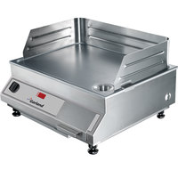 Garland GI-SH/GR 3500 21 inch Countertop Induction Griddle - 208V, 3.5 kW