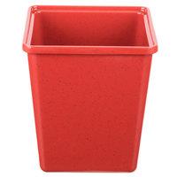 GET ML-150-RSP 3 Qt. Red Sensation Square Crock - 6/Case